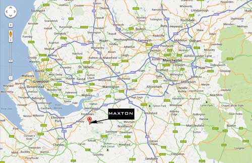 M6 Junctions Map Maxton Suspension mobile site M6 Junctions Map