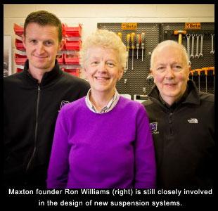 Maxton Suspension home page